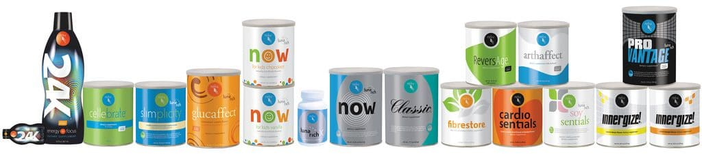 Reliv nutritional products